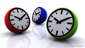 3d Clock by faizansari90