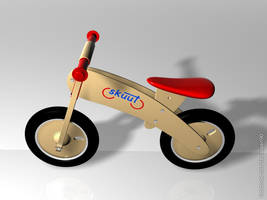 3d Skuut Bike by faizansari90