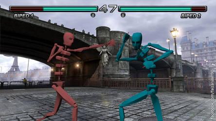 Biped Fight by faizansari90