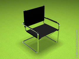 3d Chair by faizansari90