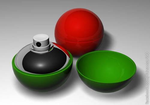 3d Ball Shaped Spray by faizansari90