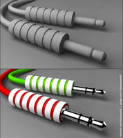3.5mm Jack - 3ds Max 2010 by faizansari90
