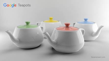 Google Teapots by faizansari90