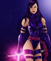 Psylocke by brianlaborada