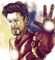 Iron Man by brianlaborada