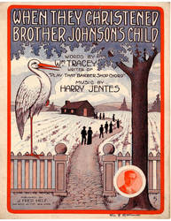 When They Christened Brother Johnson's Child by peterpulp