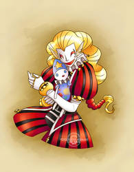 Two clowns by LadyBeelze