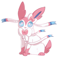 Sylveon by iVickery