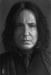 Severus Snape by toniart57