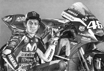 Valentino Rossi by toniart57