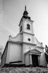 Orthodox church in Ketegyhaza by Gyuro