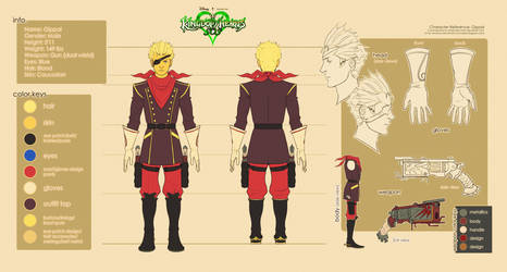 Gippal of The Royal Guard Radient Garden by Mobis-New-Nest