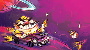 Wario in Space by ohmonah