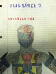 DEAD SPACE 2 Advanced Suit by Alex13alejandro