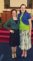 Pic Of Me And A friend At Church by Daddys-Girl1997