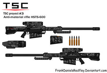 Anti-material rifle HSTS-600 by FrankDanielsRedfley