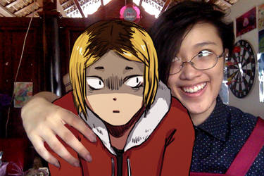 Kenma and me by buffel0305