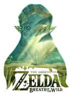 Breath of the Wild - Zelda by Guigo2112