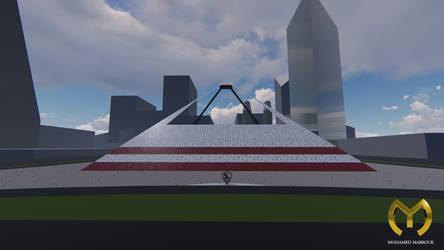 Pyramid Stadium 2 by hamadahere