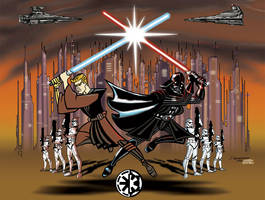 CLONE WARS ANIMATED by PIXEL-Of-DOOM