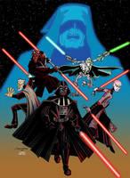 Enemies of the Jedi by PIXEL-Of-DOOM