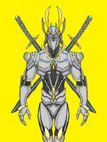 Cyborg Samurai by superdupertail