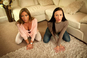 Sophia and Natalia Mindless Submissive Slave-Girls by hypnospects