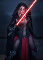 Jessica Nigri: Corrupted by the Sith by hypnospects