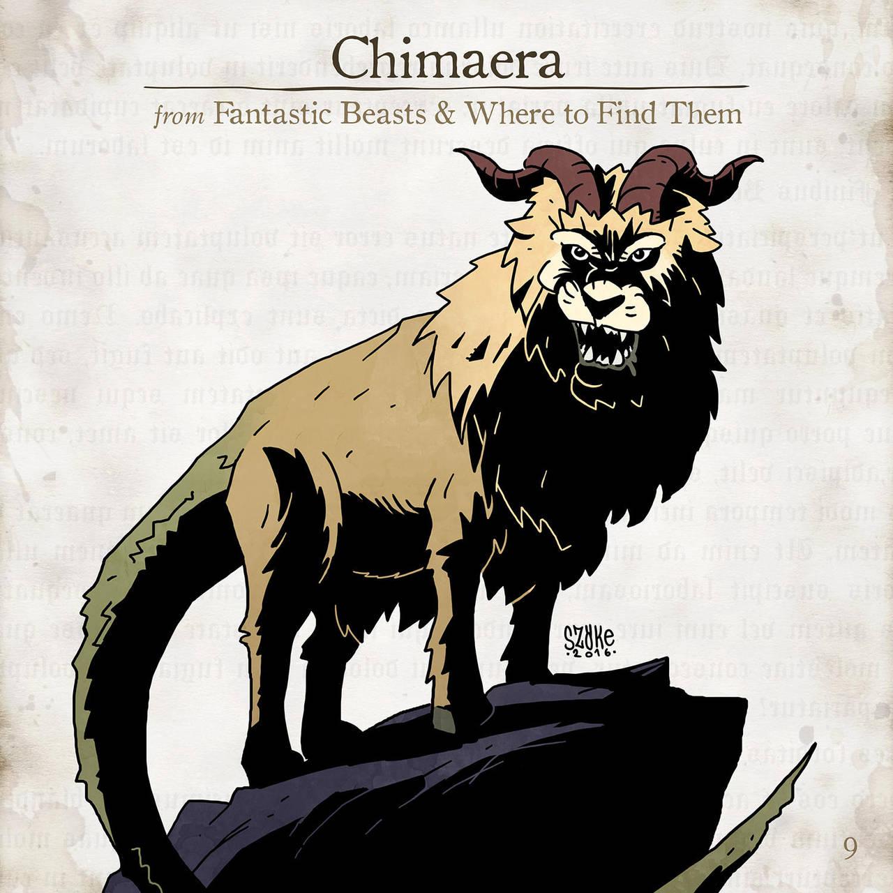 Chimaera by SzokeKissMarton