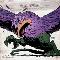 Snallygaster by SzokeKissMarton