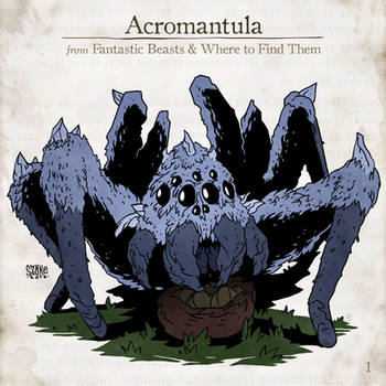 Acromantula by SzokeKissMarton
