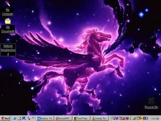 Pegasus Nebula type desktop by CherrysnRoses