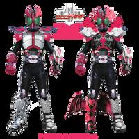 Kamen Rider Decade: All Rider Form by crimes0n