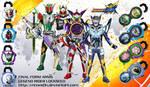 Neo Heisei Kamen Rider Final Form Arms by crimes0n