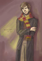 the young Mr Moony by silverwing24