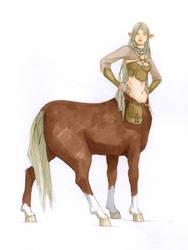 Centaur by Werdandi