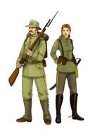 Soldiers by Werdandi