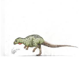 Kulindadromeus zabaikalicus by VenturaSalas