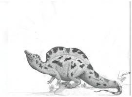 New Spinosaurus 3 by VenturaSalas