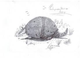 Pachyarmatherium leiseyi by VenturaSalas