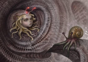 Spiral Inhabitants by liransz