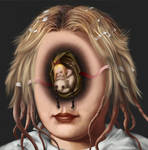 Head like a hole - Exquisite Corpse by liransz