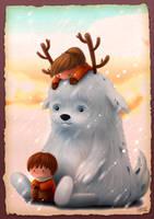 Children Illustration full tutorial by liransz