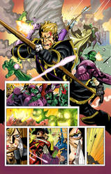 Secret Invasion colors by MarkHRoberts
