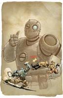 Atomic Robo by MarkHRoberts