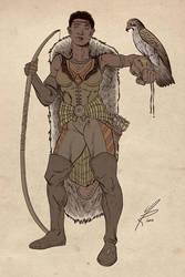 Human Ranger by MarkHRoberts
