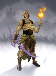 Gith Wizard by MarkHRoberts