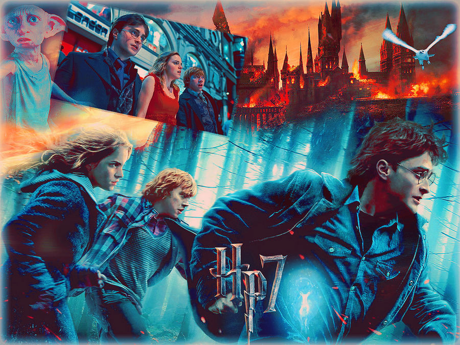 Harry Potter 7 Wallpaper By Vampiredsource On Deviantart