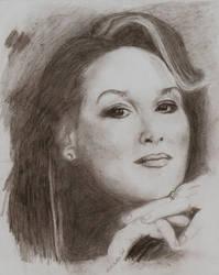 Meryl Streep fourth try by Joolka
