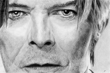 David Bowie by roffland